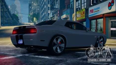 Dodge Challenger SRT8 para GTA 4 esquerda vista