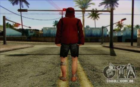 Membro do esquadrão AI Pele 2 para GTA San Andreas segunda tela
