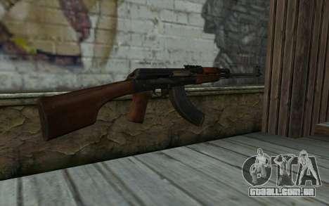 RPK 74 from Battlefield 4 para GTA San Andreas segunda tela
