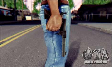 Silenced Pistol from Death to Spies 3 para GTA San Andreas terceira tela