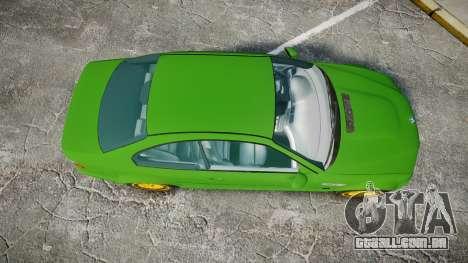 BMW M3 E46 2001 Tuned Wheel Gold para GTA 4 vista direita