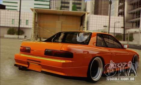 Nissan Onevia SWS para GTA San Andreas esquerda vista