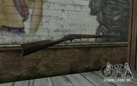 Winchester 1873 v1 para GTA San Andreas segunda tela