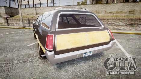 Oldsmobile Vista Cruiser 1972 Rims1 Tree1 para GTA 4 traseira esquerda vista
