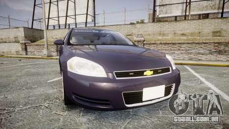 Chevrolet Impala 2010 Undercover [ELS] para GTA 4