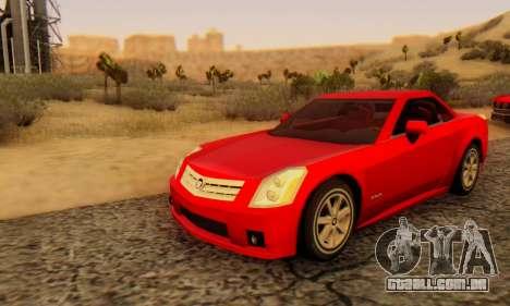 Cadillac XLR para GTA San Andreas