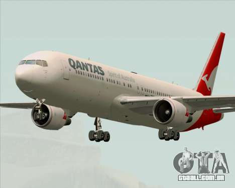 Boeing 767-300ER Qantas (New Colors) para GTA San Andreas