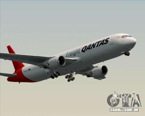 Boeing 767-300F Qantas Freight para GTA San Andreas vista direita