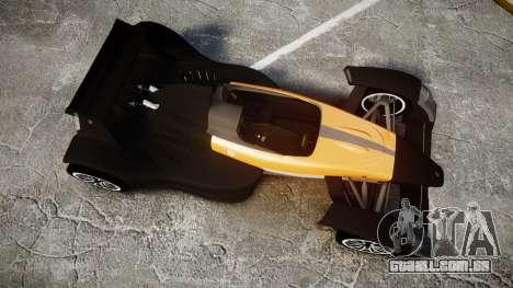 Caparo T1 para GTA 4 vista direita