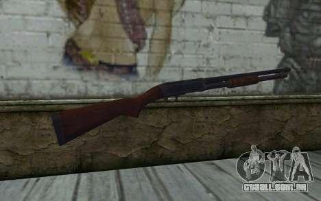 Ithaca Mod. 37 para GTA San Andreas segunda tela