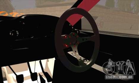 Nissan Skyline HCR32 para GTA San Andreas traseira esquerda vista