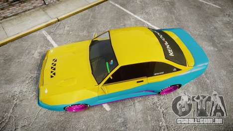 Opel Manta B GTE para GTA 4 vista direita