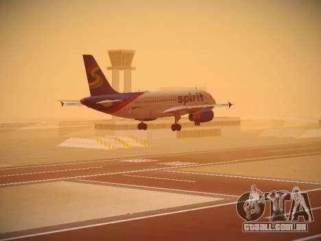 Airbus A319-132 Spirit Airlines para o motor de GTA San Andreas