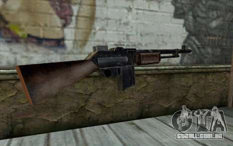 BAR-1918 from Day of Defeat para GTA San Andreas segunda tela