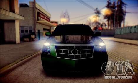 Cadillac Escalade Ninja para o motor de GTA San Andreas