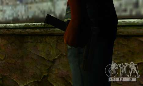 Glock 18 from Medal of Honor: Warfighter para GTA San Andreas terceira tela