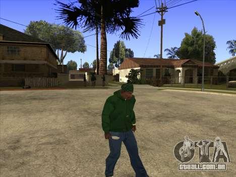 Cleo Walk Style para GTA San Andreas por diante tela