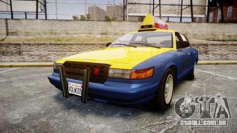 Vapid Stanier Taxi DCC para GTA 4