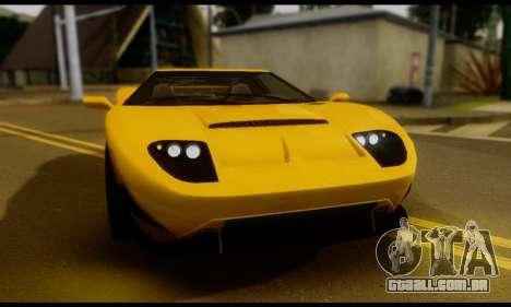GTA 5 Bullet para GTA San Andreas traseira esquerda vista