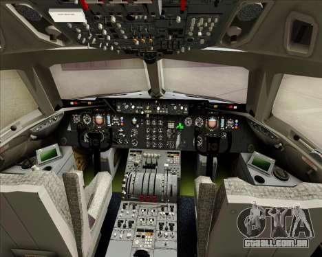 McDonnell Douglas DC-10-30 Iberia para GTA San Andreas interior