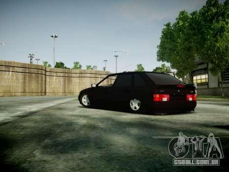 VAZ 2114 para GTA 4 traseira esquerda vista