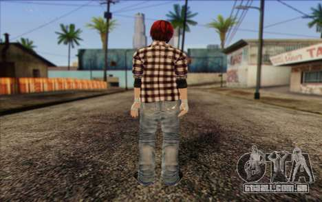 Mila 2Wave from Dead or Alive v9 para GTA San Andreas
