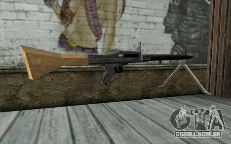 MG-34 from Day of Defeat para GTA San Andreas segunda tela