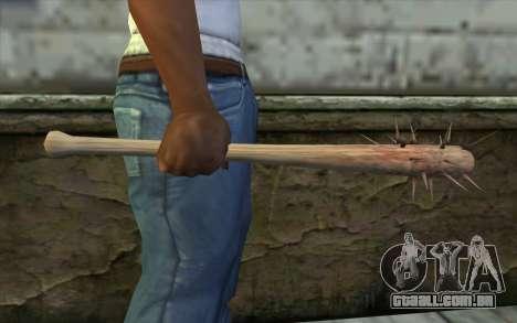 Nail Bat from Beta Version para GTA San Andreas terceira tela