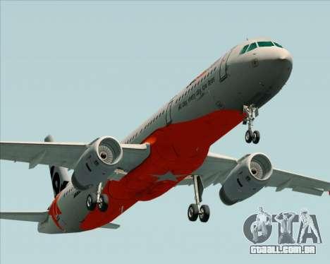 Airbus A321-200 Jetstar Airways para o motor de GTA San Andreas