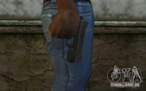 Pistol from Deadpool para GTA San Andreas terceira tela