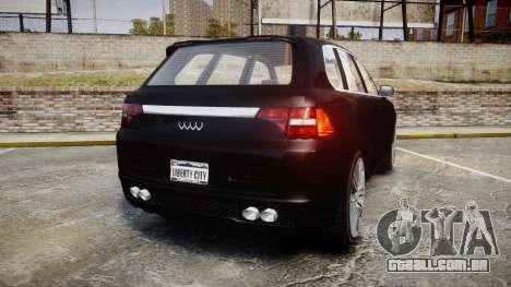 GTA V Obey Rocoto para GTA 4 traseira esquerda vista