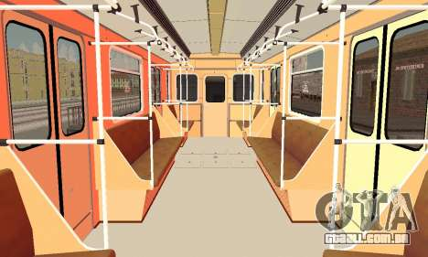 Metrophage tipo de 81-717 para vista lateral GTA San Andreas
