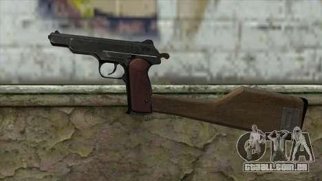 Stechkin Pistola Automática para GTA San Andreas terceira tela