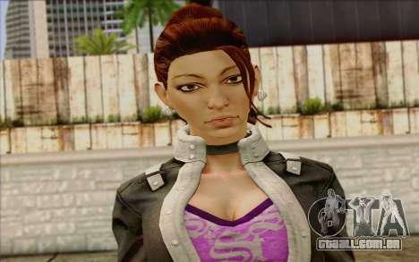 Shaundi from Saints Row The Third para GTA San Andreas terceira tela