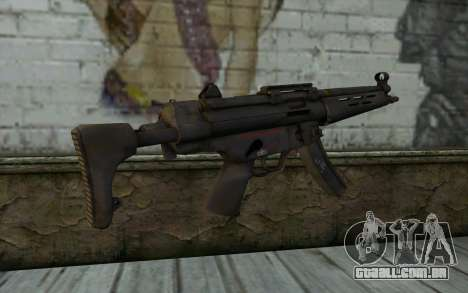 MP5 from FarCry 3 para GTA San Andreas segunda tela