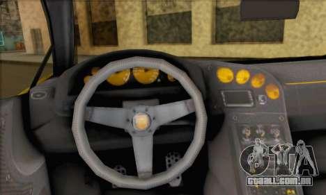 Pegassi Vacca (HQLM) para GTA San Andreas traseira esquerda vista