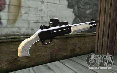 Silver Shotgun para GTA San Andreas segunda tela