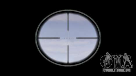 Rifle M16A4 ACOG alvo para GTA 4 terceira tela