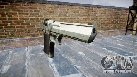 Пистолет IMI Desert Eagle Mk XIX Chrome para GTA 4