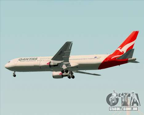 Boeing 767-300ER Qantas (New Colors) para as rodas de GTA San Andreas