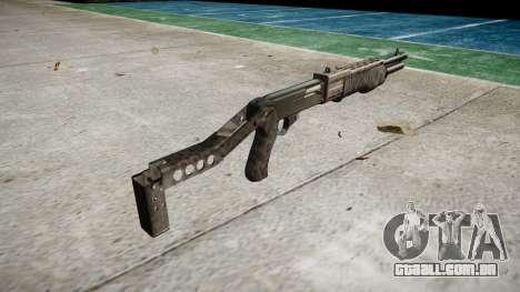 Ружье Franchi SPAS-12 Kryptek Typhon para GTA 4 segundo screenshot