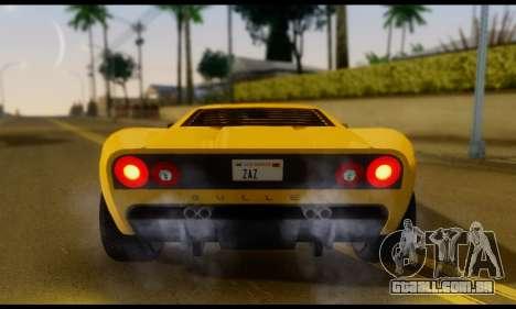 GTA 5 Bullet para GTA San Andreas vista direita