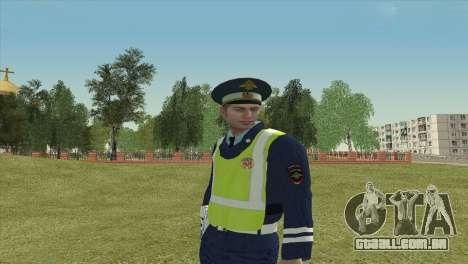 O Sub-inspector DPS para GTA San Andreas terceira tela