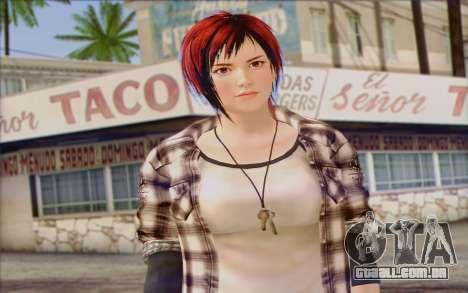 Mila 2Wave from Dead or Alive v9 para GTA San Andreas terceira tela