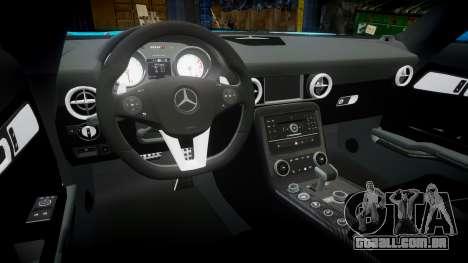 Mercedes-Benz SLS AMG v3.0 [EPM] Kotori Minami para GTA 4 vista interior