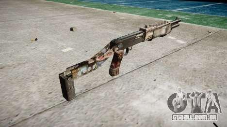 Ружье Franchi SPAS-12 Zumbis para GTA 4 segundo screenshot