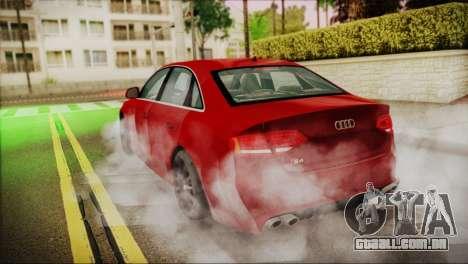 Audi S4 para GTA San Andreas esquerda vista