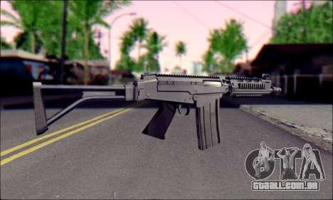 FN FAL from ArmA 2 para GTA San Andreas terceira tela