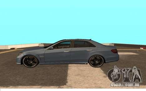 Mercedes-Benz W212 (Wheeljack from TF 3) para GTA San Andreas esquerda vista