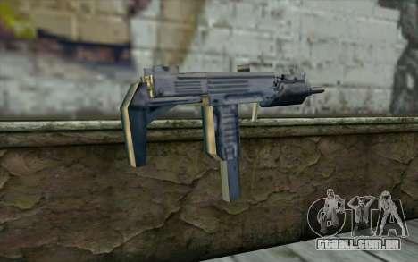 Uzi from Beta Version para GTA San Andreas segunda tela